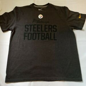 Nike Pittsburgh Steelers Men's Size XL  Regular Fit NFL Football Graphic T Shirt