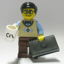 Computer Programmer Series 7 Laptop CPU C:/ Cup Lego Minifigure Figure mini Fig