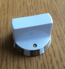 White Spare Electric Cooker Oven Grill Temperature Control Knob, Baby Belling