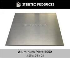 18 125 Aluminum Sheet Plate 24 X 24 5052