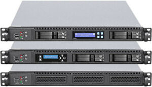 """1U (6 x Hot-Swap + 3 x 2.5"""" HDDs) (Micro-ATX / ITX) (Rackmount Chassis) Case NEW"""