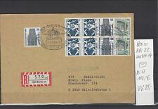 Aus Markenheftchen 14 Berlin HBl 22 gestempelt auf Einschreibebrief gelaufen 101