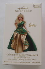 Hallmark 2011 Celebration Barbie Special Edition Holiday Christmas Ornament