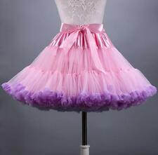 New TUTU Skirt Petticoat Cosplay Pettiskirt Crinoline Fluffy Dance Skirt Costume