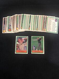 1981 Donruss Golf Complete 66 Card Set Near Mint - Jack Nicklaus Rookie RC 🔥