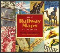 Great Railway Maps of the World by Mark Ovenden (Hardback, 2011)