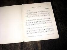 les papillons partition violon piano Couperin 1925