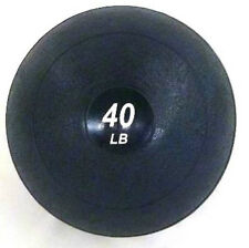 40 LB Crossfit Slammer Ball No-Bounce Slam Weighted Soft Medicine Fitness Ball