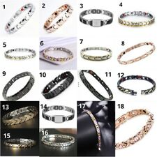 Strong Stainless steel Magnetic Bracelet for Arthritis Pain Anxiety sleep energy