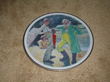 Norman Rockwell No Kings Nor Dukes Collector Plate 1981