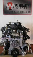 2017 Isuzu 4HK1TC Diesel Engine. 210HP, Approx. 225K Miles. All Complete