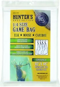 """Hunters Specialties 01238 Quarter Size Game Bags 40"""" x 48"""""""