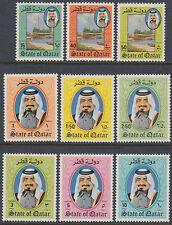 Qatar 1984 ** Mi.858/66 Freimarken Definitives Schiffe Ships Dhau Dhow Hafen