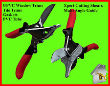 Xpert Pro Mitre Shears Multi Angled Anvil Cutters Tile Mate UPVC Trim & Gasket