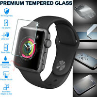 Genuine TEMPERED GLASS Screen Protector For iWatch Apple Watch 42mm Series 3