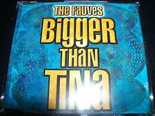 The Fauves Bigger Than Tina Rare Australian CD Single - New