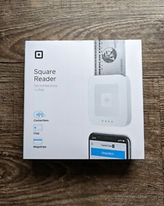 Square Reader for Contactless and Chip, Card Magstripe  *New* Factory Sealed
