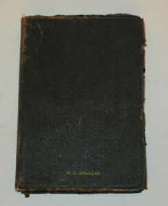 1917 Leather Holy Bible Scofield Reference