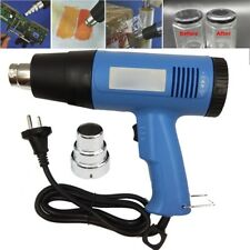 220V 1500W Electric Heat Gun 60-650Degree Temperature Adjustable Hot Air EU Plug