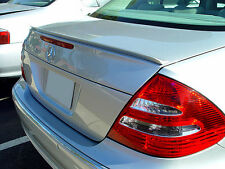 Mercedes Benz E Class W211 Rear Euro Trunk Boot Spoiler Lip Wing Sport Trim AMG