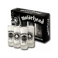 Motorhead - Born To Lose Live To Win Shooter Glass Set - New & Official In Box