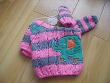 girls next hat mitts and scarf set 3-9 months nwt