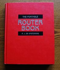 The Portable Router Book By R. J. De Cristoforo Woodshop tools Instructional TAB