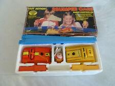 VINTAGE BOXED 2BUMPER CARS RADIO CONTROLLED SET W ORIGINAL BOX DAEWOO 1981 303