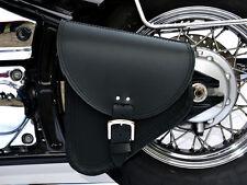 (B3) Leather Swingarm Single Pannier Saddle Bag Yamaha Dragstar Vstar XVS 650