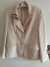 Womens' elegant/chic formal  embellished Jacket - Gold by Michael H; Size 18/44