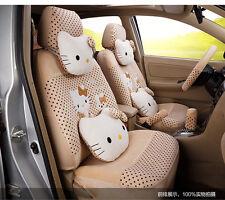 ** 20 Piece Creamy Polka Dot Pretty Hello Kitty and Bunny Car Seat Covers **