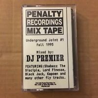 DJ Premier Penalty Recordings Mixtape Fall 1995 MIXTAPE CASSETTE Rare Tape 90s