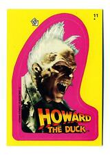 Topps 1986 Howard the Duck Movie Sticker Puzzle Card #11
