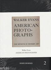 Walker Evans - American Photographs - Books on Books 2