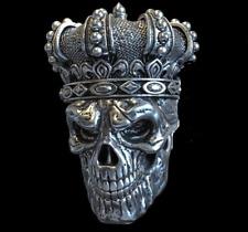 Petrobond Cast Silver Bar Mold Pattern Skull King Graphite Mold Alternative!