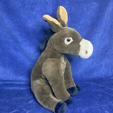 "Wild Republic Mule Burrow Donkey 14"" Plush Stuffed Animal EUC"
