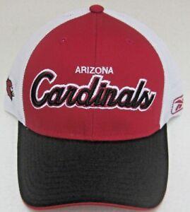 NFL Arizona Cardinals Multi-Color Mesh Back Adjustable Snap Back Hat by Reebok