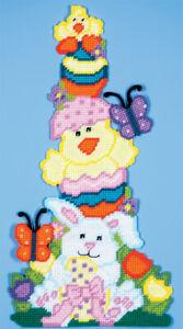 Mary Maxim Easter Pileup Plastic Canvas Kit