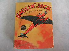 Smilin' Jack Stratosphere Ascent #1152 Big Little Book ~ Zack Mosley ~ (1937)