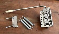E Gitarren Tremolo Bridge Chrom für z.B. Stratocaster Modelle