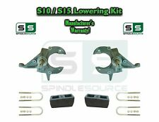 "82-05 Chevy S-10 S10 / GMC S-15 Sonoma Blazer Jimmy 2"" 2 inch Drop Spindles KIT"