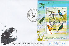 Kosovo Stamps 2010. Birds. FDC Block MNH.