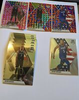 2019-20 Kevin Durant Mosaic Lot. Pink Camo, Blue Reactive, USA Blue Reactive, 6
