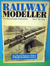 RAILWAY MODELLER APRIL 1980 # CHILTERN GREEN 2mm / N SCALE LAYOUT > SEE PICS