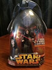 Star Wars Revenge of the Sith Hasbro Emperor Palpatine#12 Firing Force Lightning