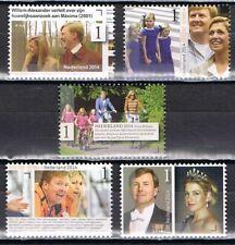 3204-3208 2014 12,5 jaar Koninklijk Huwelijk Willem-Alexander - Maxima -Royalty