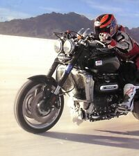 2013 TRIUMPH MOTORCYCLE BROCHURE -TIGER-DAYTONA-ROCKET BONNEVILLE-THUNDERBIRD