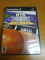Strike Force Bowling (Sony PlayStation 2, 2004)(Tested)