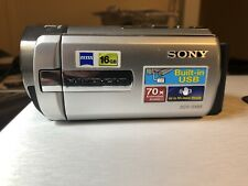 Sony DCR-SX85 Handycam with, Charger, Cables, Manuals And Carry Bag