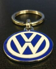 Genuine Volkswagen Small Enamel VW Keyring 000087010